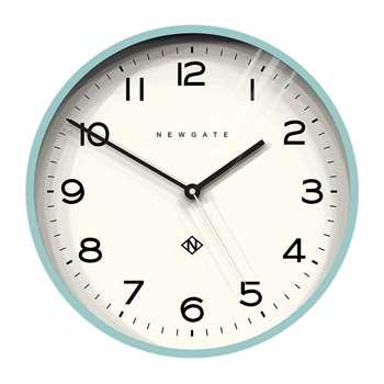 Newgate Clocks - Number Three Echo Wall Clock - Aquamarine (H37 x W37 x D4cm)