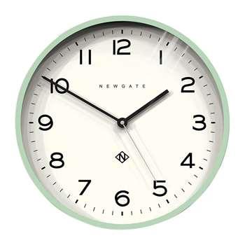 Newgate Clocks - Number Three Echo Wall Clock - Neo-Mint (Diameter 37cm)
