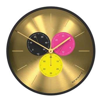 Newgate Clocks - Triptick Clock - Dragon Claw (H53 x W53 x D7.5cm)