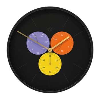 Newgate Clocks - Triptick Clock - Snake Eye (H53 x W53 x D7.5cm)