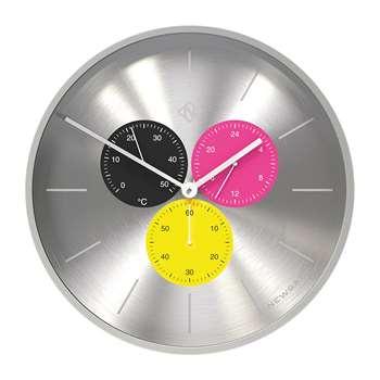 Newgate Clocks - Triptick Clock - Stingray (H53 x W53 x D7.5cm)