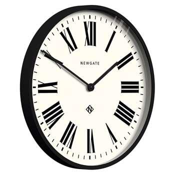 Newgate Italian Clock, Black (Diameter 53cm)