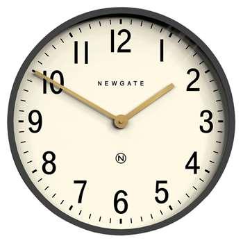 Newgate Mr Edwards Wall Clock, Moonstone Grey (Diameter 45cm)