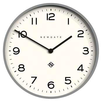 Newgate Number One Echo Wall Clock, Grey (H53 x W53 x D4.4cm)