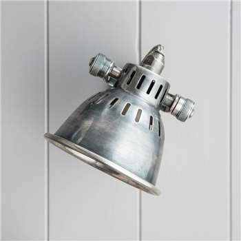 Nickel Wall Spot Lamp (Depth 20cm)