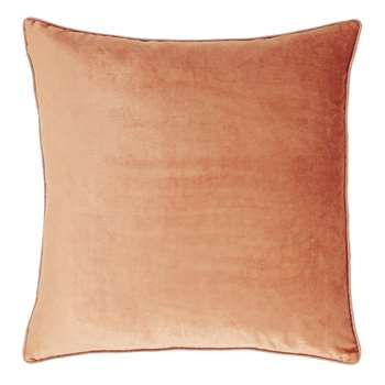 Nigella Copper Square Velvet Cushion (H50 x W50cm)