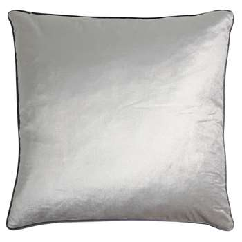 Nigella Marble Square Velvet Cushion (H50 x W50cm)