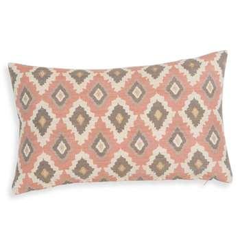 NIRVANA multicoloured silk and cotton cushion cover (30 x 50cm)
