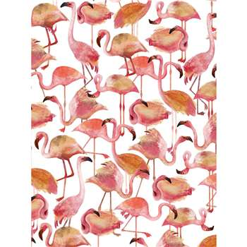 NJ Interiors - Flamingo Pink Wallpaper