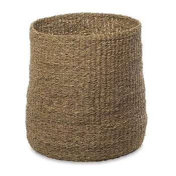 Nkuku - Noko Seagrass Tall Basket (H45 x W45 x D45cm)