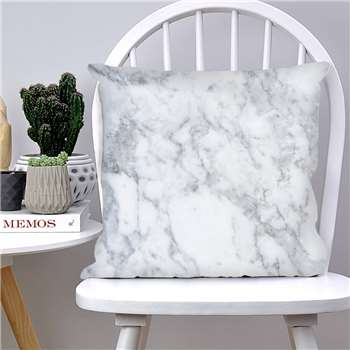 Nomadic Being Marble Effect Cushion (H45 x W45cm)