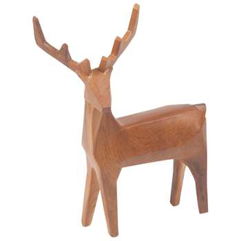 NOODY Brown Deer Ornament (H31.5 x W14.2 x D5.5cm)