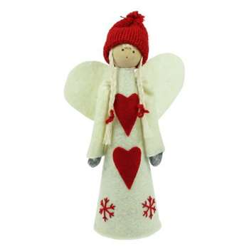 Nordic Angel Christmas Tree Topper (22 x 6.5cm)