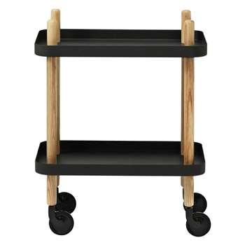 Normann Copenhagen - Block Table - Black (H64 x W50 x D35cm)