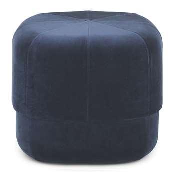 Normann Copenhagen - Circus Pouf - Small - Dark Blue (H40 x W46 x D46cm)