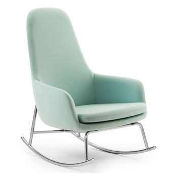 Normann Copenhagen Era Rocking Chair High - Light Blue (100 x 72cm)