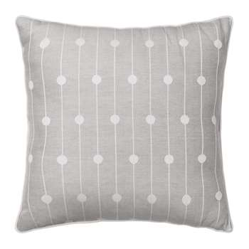 Normann Copenhagen - Mega Fairy Lights Cushion - Metal Grey (H50 x W50cm)