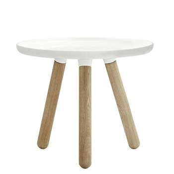 Normann Copenhagen - Tablo Table - White - Small (42 x 50cm)
