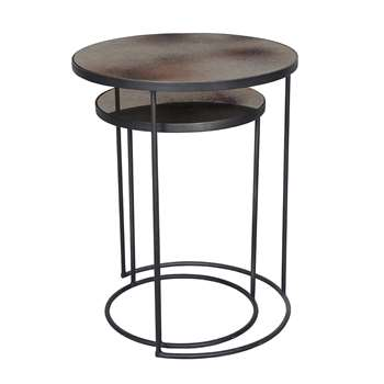 Notre Monde - Nesting Side Table Set - Bronze (69 x 56cm)