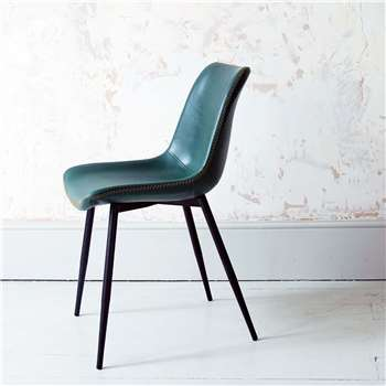 Novak Green Chair (H76 x W46 x D56cm)