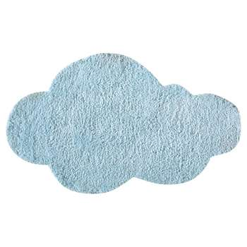 NUAGE child's rug in blue 60 x 100cm
