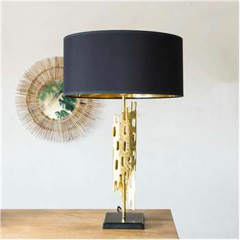 Nyssa Gold Table Lamp (Height 52cm)
