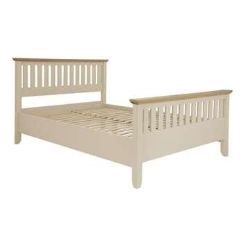 Oakham Cream Bed Frame  Double (110 x 149 x 202cm)