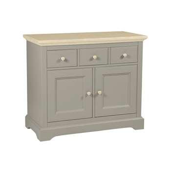 Oakham Pale French Grey 2 Door 3 Drawer Sideboard (83 x 98cm)