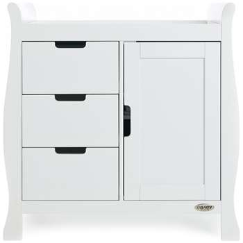 Obaby - Stamford - Changing Unit - White (91 x 90cm)