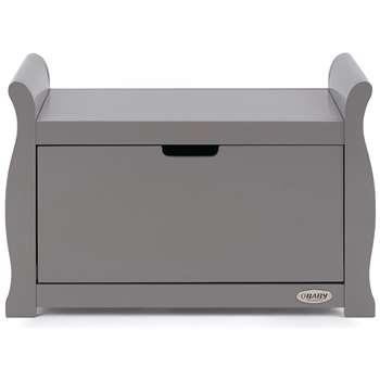 Obaby Stamford Sleigh Toy Box - Taupe Grey (H50 x W78 x D40cm)