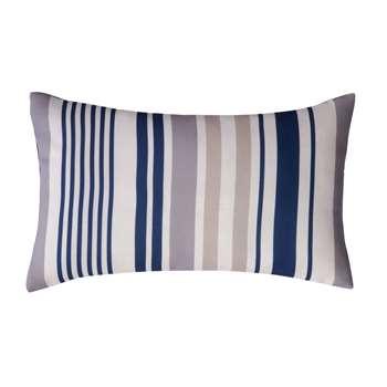 OLÉRON outdoor cushion in blue stripe 30 x 50cm