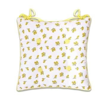 Olive and Lemons Seat Pad (H40 x W40cm)