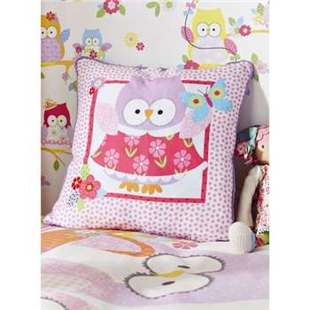 Olive The Owl Cushion (H40 x W40cm)