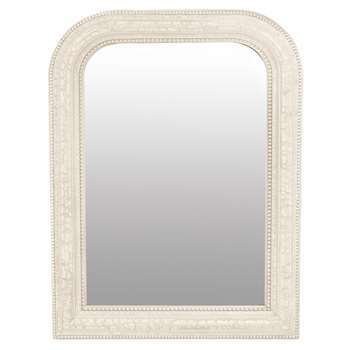 Olivia Ivory Small Mirror (H80 x W60 x D3.5cm)