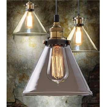 Olivier Vintage Pendant Light (H160 x W18.5 x D18.5cm)