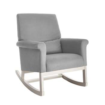 Olli Ella Ro Ki Rocker Nursery Chair in Dove Grey