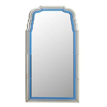 Ondello Mirror - Venetian Blue (110 x 60cm)