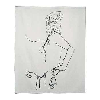 One Nine Eight Five - Woman Throw (H190 x W160cm)