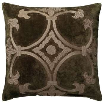 Ophelia Cushion Cover, Large - Bronze (51 x 51cm)