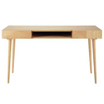 ORIGAMI 2-Drawer Vintage Desk (H78 x W140 x D60cm)
