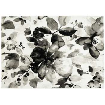 Origins Watercolour Rug - Grey (H120 x W170cm)