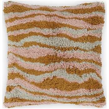 Orko Cotton Tufted Cushions, Pinks (H45 x W45cm)