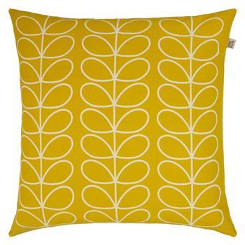 Orla Kiely Linear Stem Cushion, Sunflower (50 x 50cm)