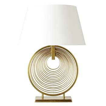 Oromo Lamp - Antique Brass (H42 x W38 x D13cm)