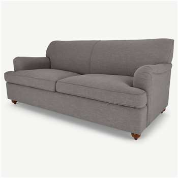 Orson 3 Seater Sofa Bed, Graphite Grey (H80 x W188 x D96cm)