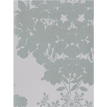 Osborne & Little Salcey Wallpaper, Lilac / Gilver, W5792-01