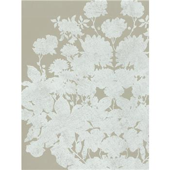 Osborne & Little Salcey Wallpaper, Linen / White, W5792-04