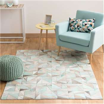 OSCOPE leather rug (160 x 230cm)