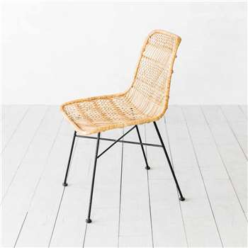 Oslo Natural Dining Chair (H85 x W43 x D50cm)