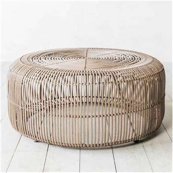 Oslo Round Clay Coffee Table (H38 x W83 x D83cm)